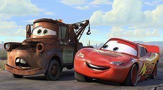 Mater And Lightning Mcqueen With Images Cars Movie Disney