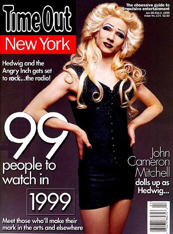 John Cameron Mitchell As Hedwig On The Cover Of Time Out New