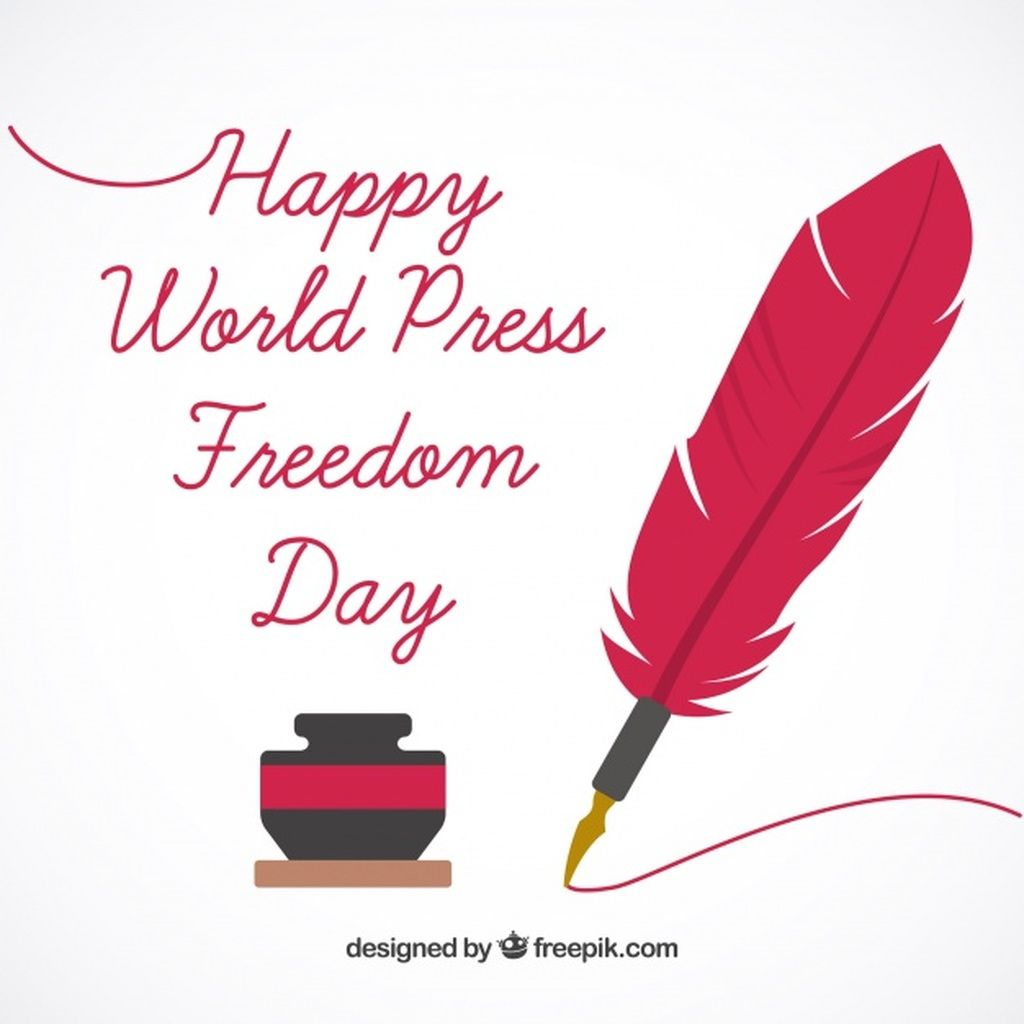 Background With Inkwell And Pen Of World Press Freedom Day Paid Ad Paid Pen World Day Inkwell World Press Freedom Day Freedom
