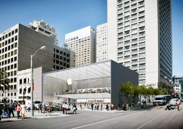 Apple Plans Fresh New Showcase Store for San Francisco
