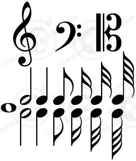16 Free Printable Music Images Music Symbols Scalable Vector Music Symbols Black Classical Music Symbols Tre Music Symbols Music Visualization Music Doodle