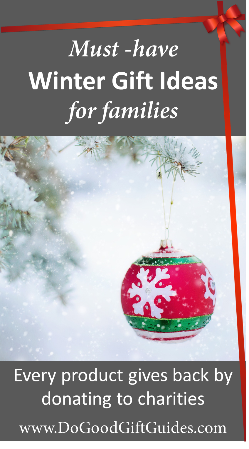 All items in our gift guides give back by donating to charities that ...
