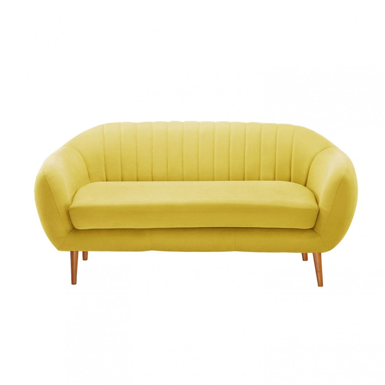3 Sitzer Gelb Scandi By Stella Cadente Studio Furniture