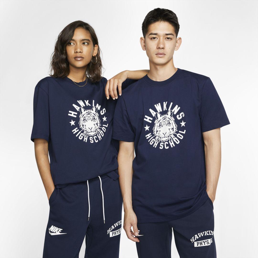 Nike x Stranger Things Men's T-Shirt. Nike.com #schooloutfit