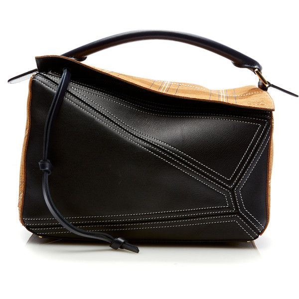 Loewe Puzzle Sched Bag 191 775 Inr Liked On Polyvore Featuring Bags Handbags