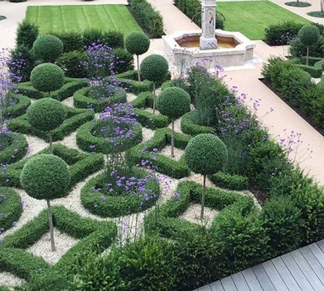 60+ Formal Garden Design Ideas_22 #Formalgardens