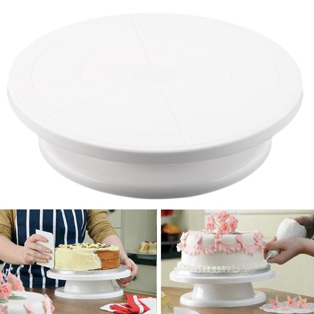 spinning cake stand diy
