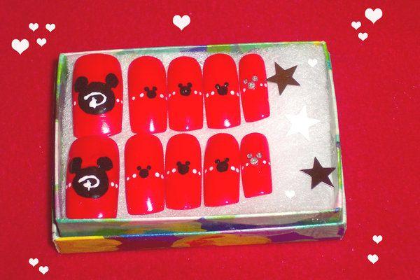 .Nailart. Disney Nails by ~neko-crafts on deviantART