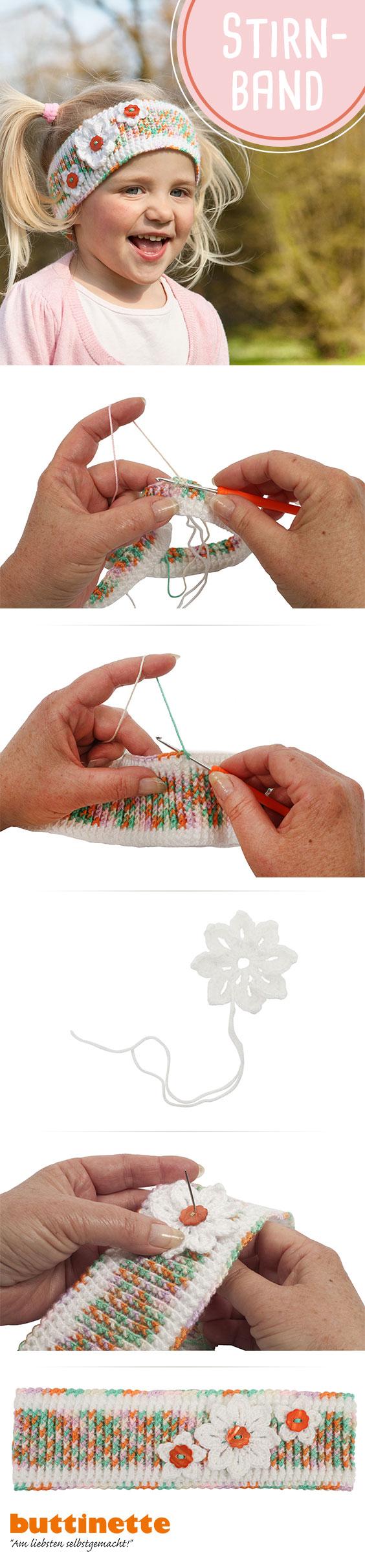 Stirnband #häkeln #crochet #free #DIY #kostenlose #Anleitung ...