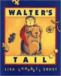 Walter's Tail by Lisa Campbell Ernst book jacket