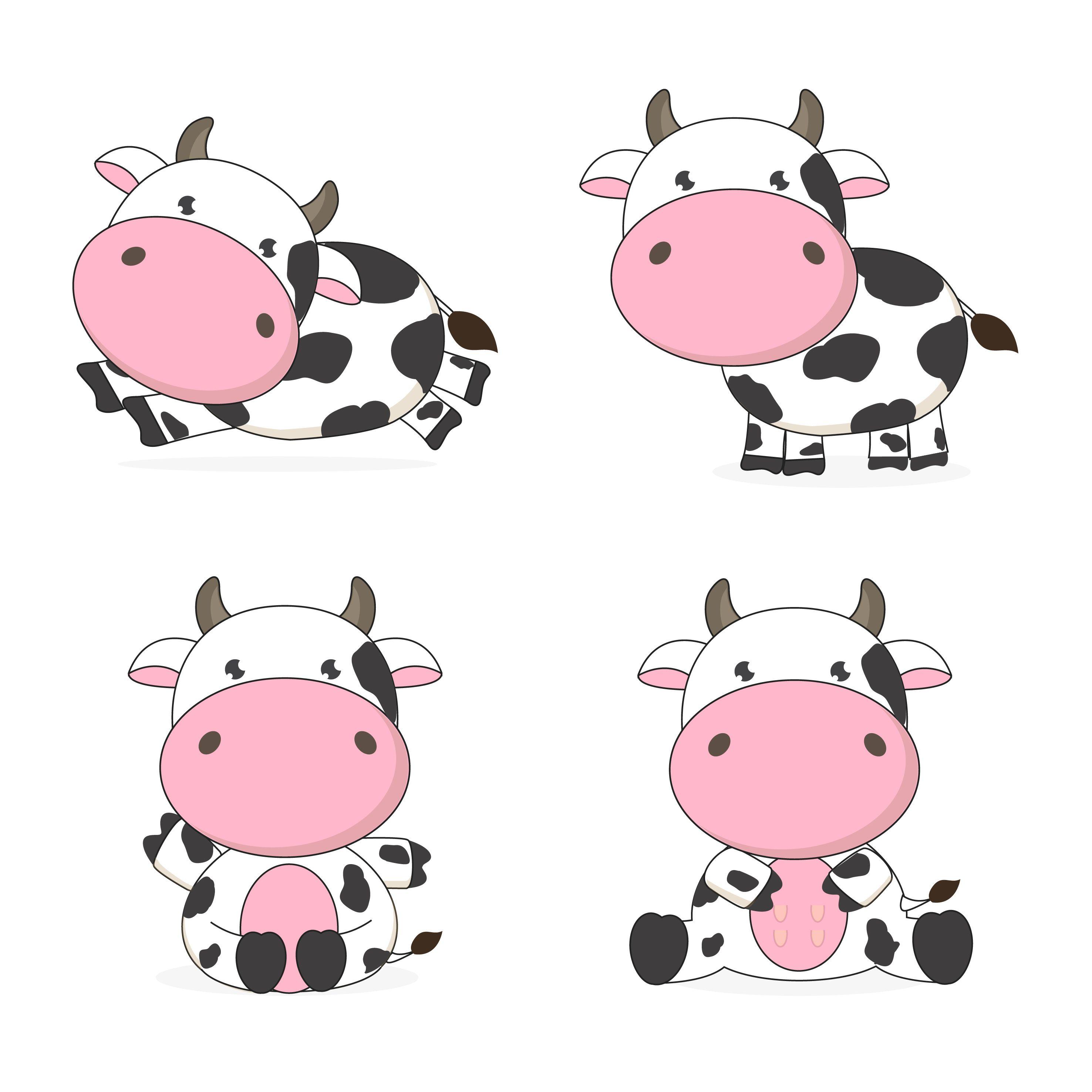 45+ Free Clipart Farm Animals Cows