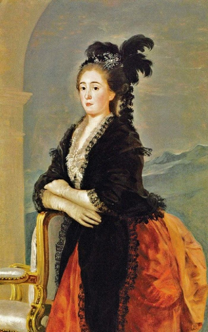 """Portrait of María Teresa de Vallabriga"" by Francisco de Goya (1783)"