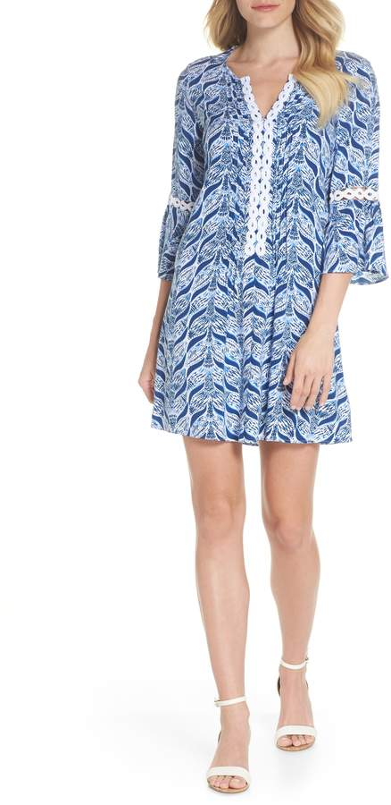 fcb653cb0cd Women's Lilly Pulitzer Hollie Tunic Dress, Size X-Small - Blue ...