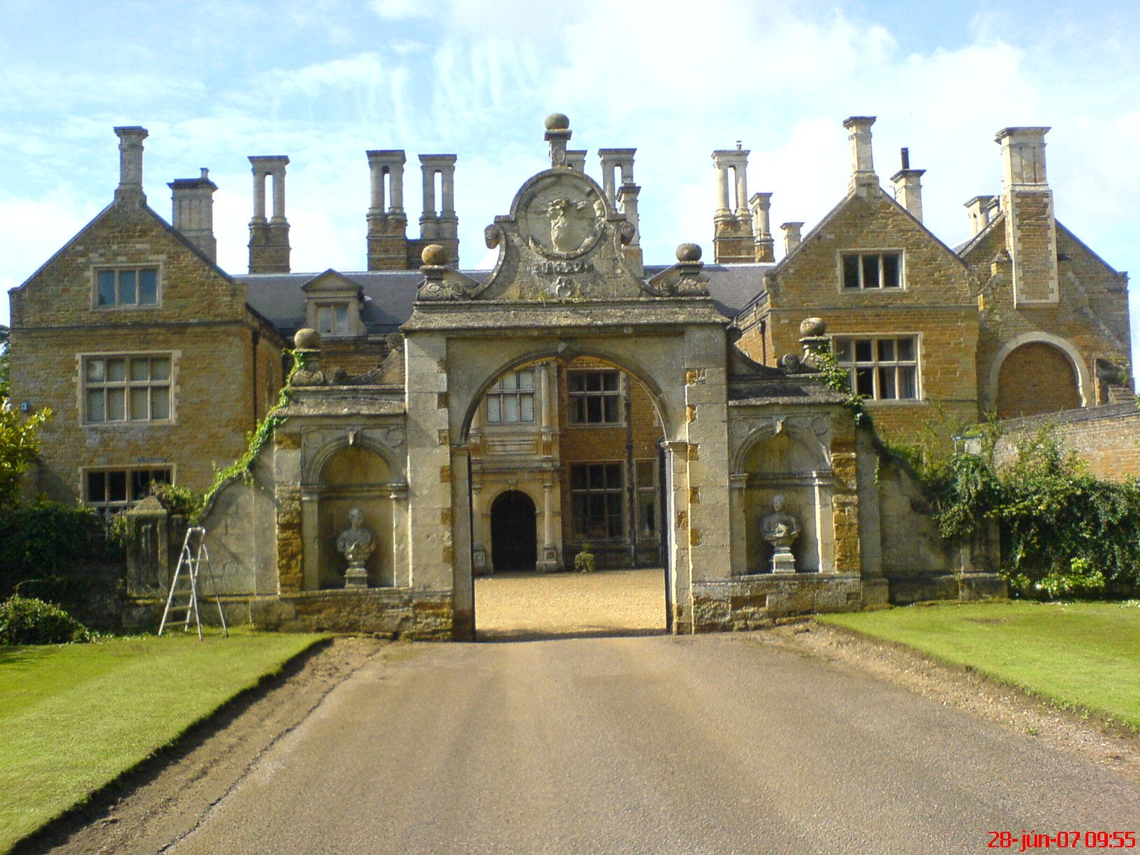 Holdenby house in northamptonshire england not far from althorp