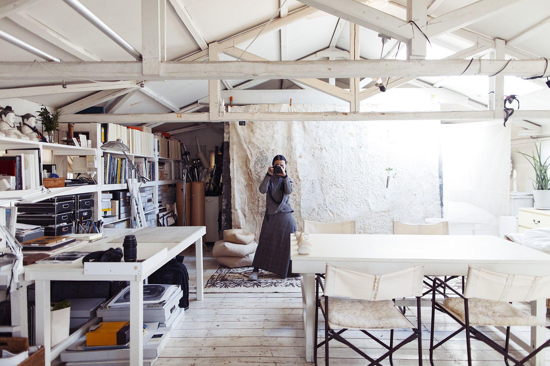 Yuriko Takagi – grapher at her Studio in Tokyo the selby