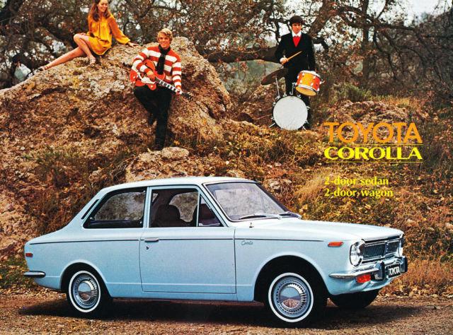 1969 Toyota Corolla Original Car Sales Brochure Catalog 77662 Id Ebay In 2020 Toyota Corolla Toyota Corolla