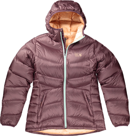 Mountain Hardwear Women's Kelvinator Hooded Down Jacket Black S