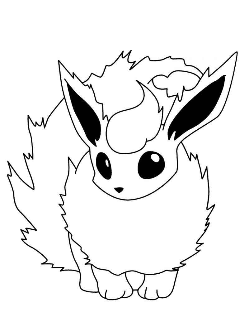 Flarion Coloring Page Pokemon Coloring Pages Pikachu Coloring Page Pokemon Coloring Sheets