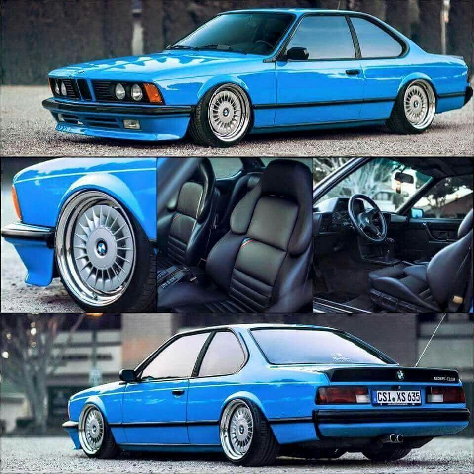 BMW E24 635 CSI Bmw classique, Voiture tuning, Voiture