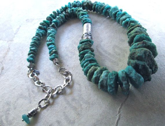 SPRINGS OF SEQUANA Bohemian Chic Turquoise & by MangledMuttStudios