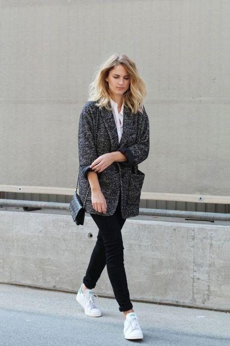 skinny jeans kombinieren so stylen modeprofis jetzt die r hre fashion pinterest stan. Black Bedroom Furniture Sets. Home Design Ideas