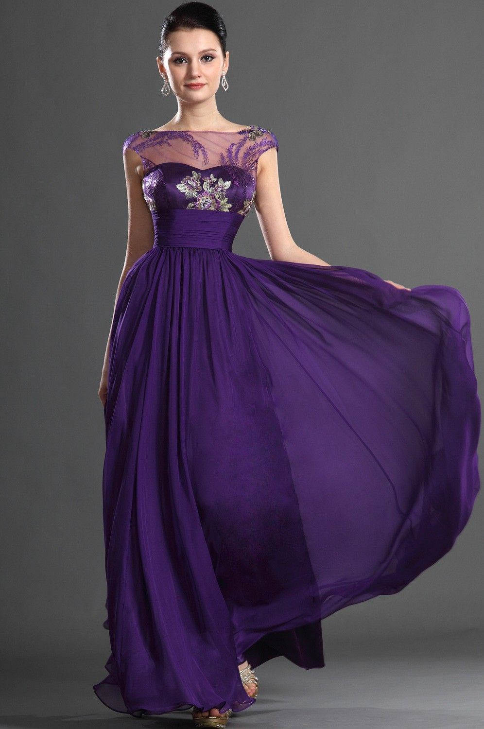 bridesmaids dress or mother of the bride dress   Chiffon ...
