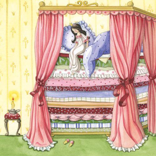 Prinzessin auf der erbse  die Prinzessin auf der Erbse | the PRINCESS and the PEA | Pinterest ...