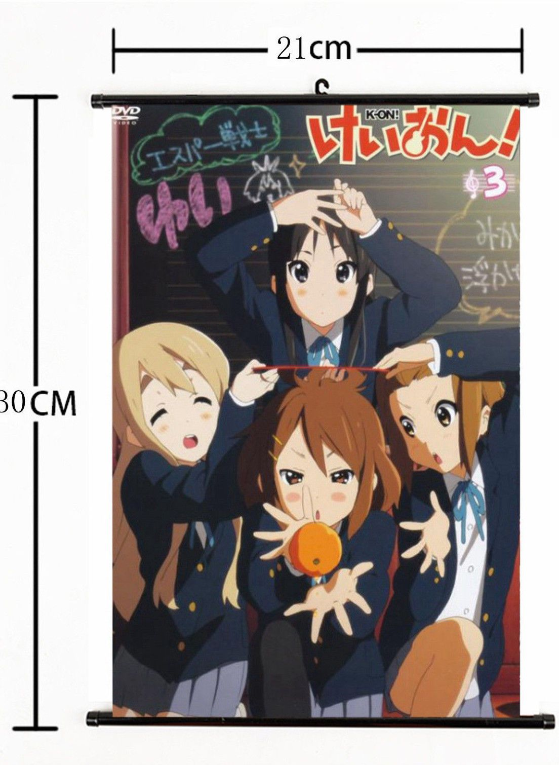 Akiyama Mio HD Canvas Print Wall Poster Scroll Room Decor K-on