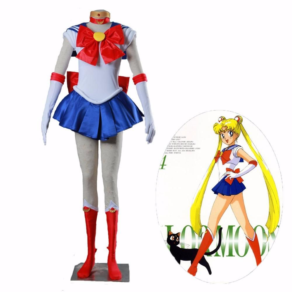 Sailor Moon Tsukino Usagi Cosplay Accessories Cosplay Gloves Free Size For Adult