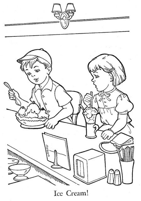 child sharing coloring pages - photo#27