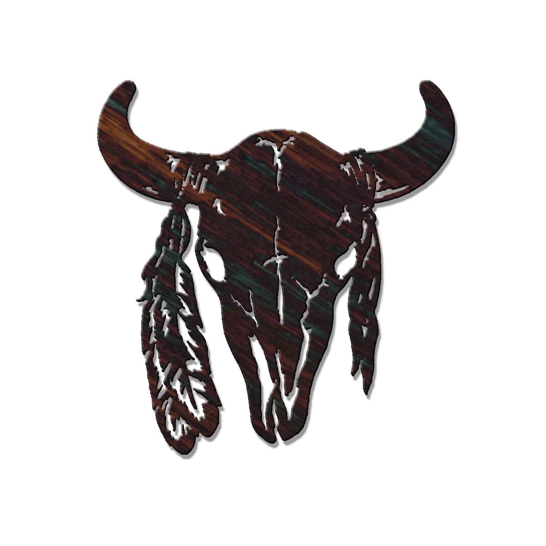 41++ Astonishing Buffalo skull tattoo designs image HD