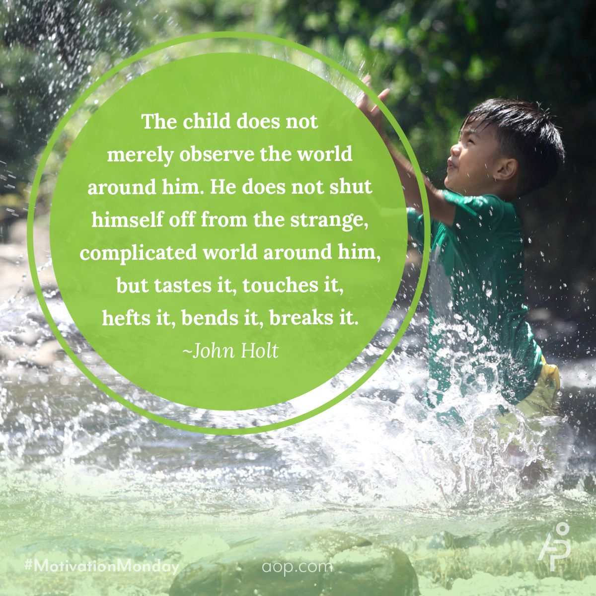 Quotes Childhood Teaching Johnholt With Images