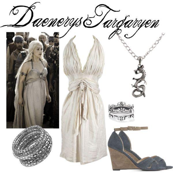 """Daenerys Targaryen"" By Fandom-wardrobes On Polyvore"