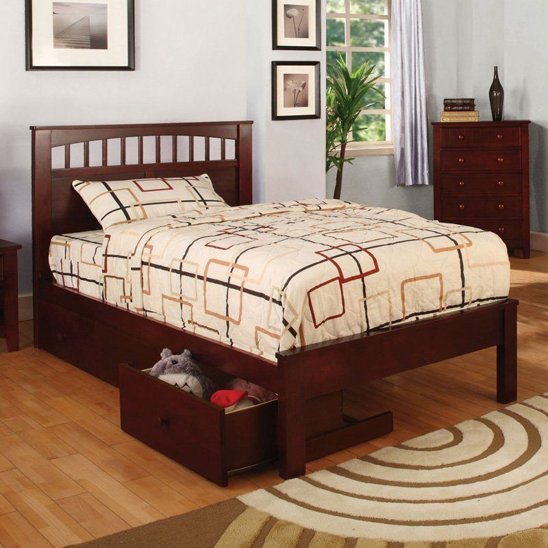 Furniture Of America Olympic Platform Bed Size Full Double Idf