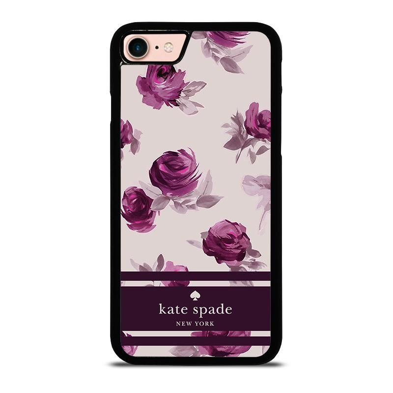 Kate spade floral purple iphone 8 case cover