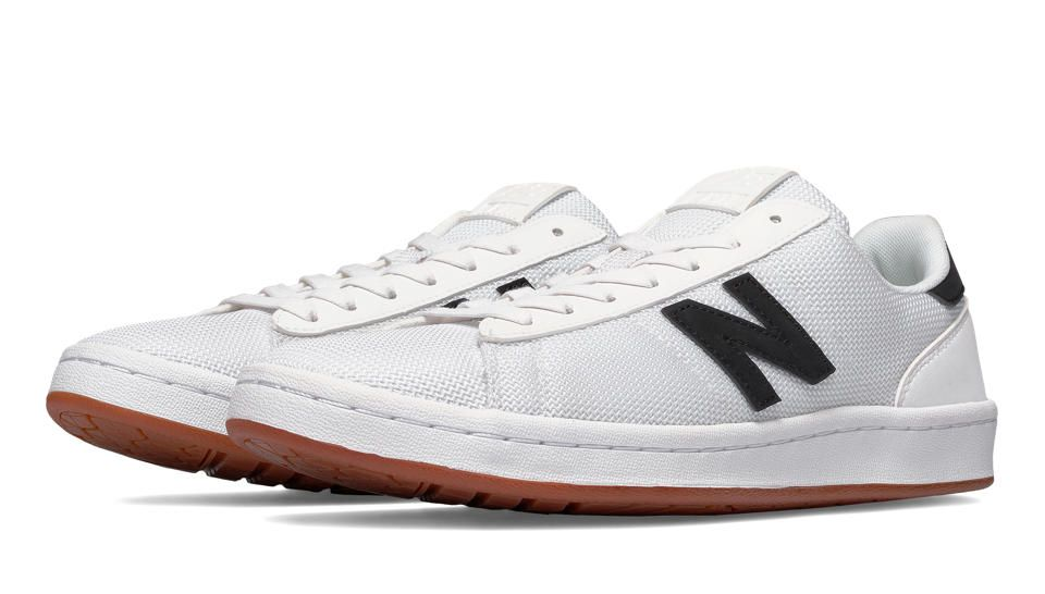 791 90s Traditional, White with Black