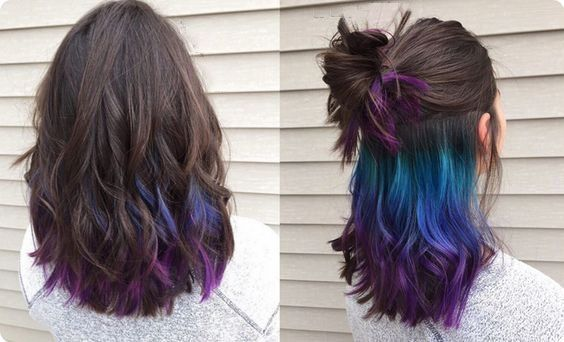 Incredible Peekaboo Hair Colors - Do You Want To T