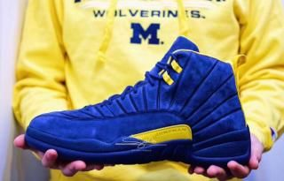 big sale 1df9d cb717 Detailed Look  PSNY x Michigan Air Jordan 12