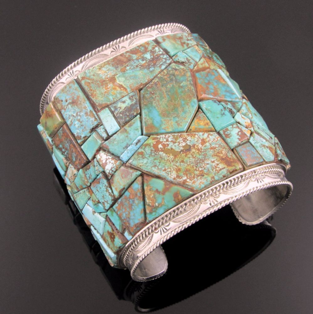il listing bangle with vintage turquoise hinged prong sterling contemporary bracelet set bihc fullxfull silver stones