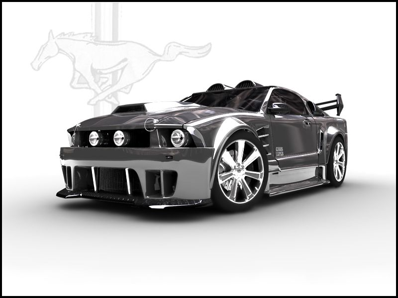 we are selecting muscle cars for a futuristic book this mustang is sick