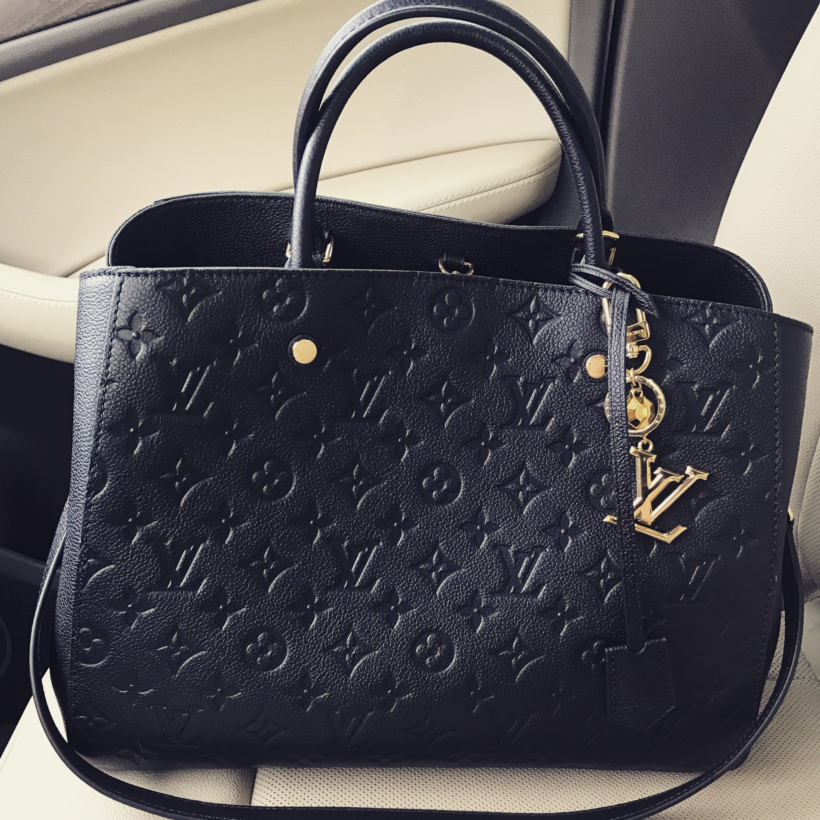 1f11369df1 Louis Vuitton Empreinte Montaigne GM Cartera Hermes