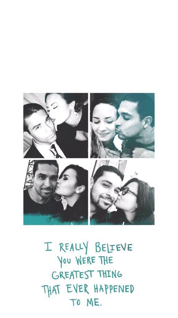 Demi and Wilmer edit - credit to @bowmetria