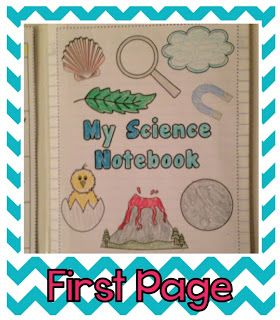 First Week: Setting Up Science Notebooks {Photos Galore!}