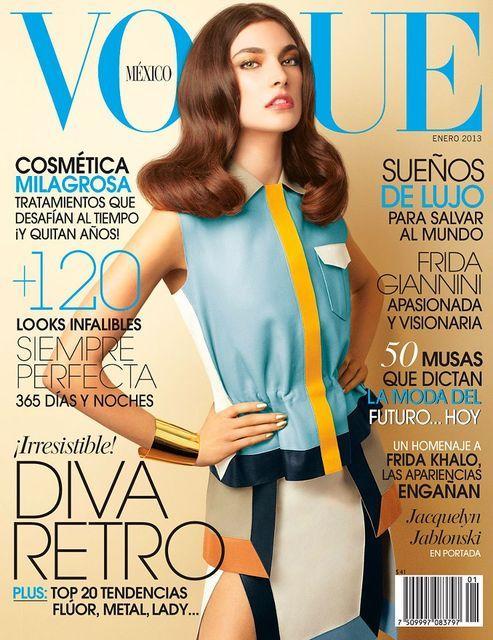 Vogue Mexico January 2013