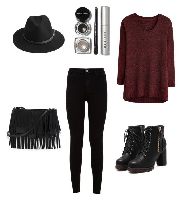 """""""Casual outfit"""" by summergirls910 on Polyvore featuring BeckSöndergaard, White House Black Market, 7 For All Mankind and Bobbi Brown Cosmetics"""