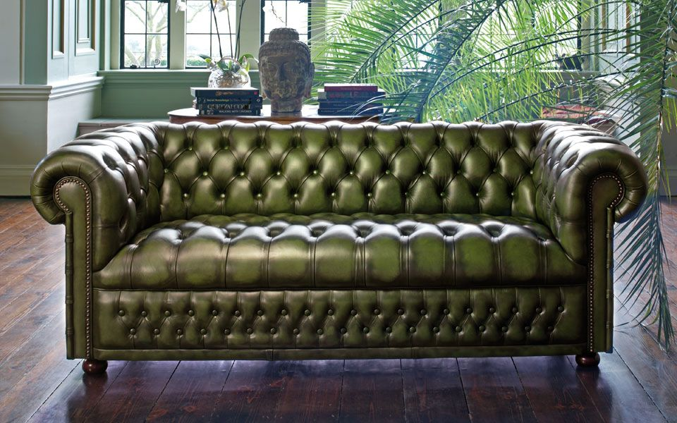 vert cuir my chesterfields pinterest cuir vert et chaise fauteuil. Black Bedroom Furniture Sets. Home Design Ideas