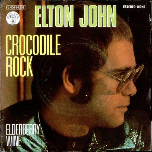 Elton John Crocodile Rock Single Elton John Crocodile Rock