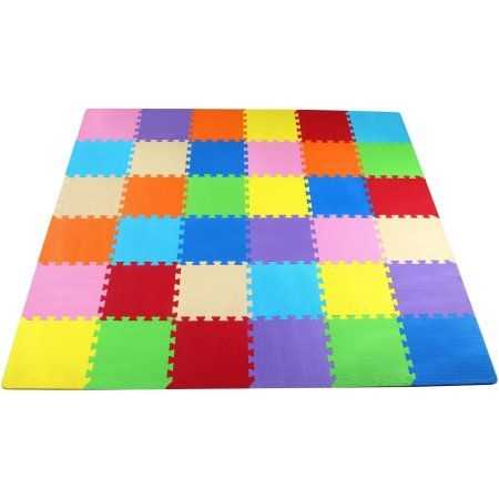 NEW FOAM PUZZLE FLOOR MAT XL LARGE PIECES GYM PLAY AREA GARAGE PLAYROOM TILES