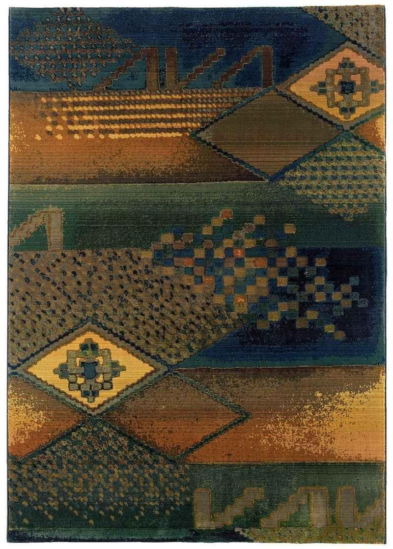 Oriental Weavers Kharma II KR618 Blue