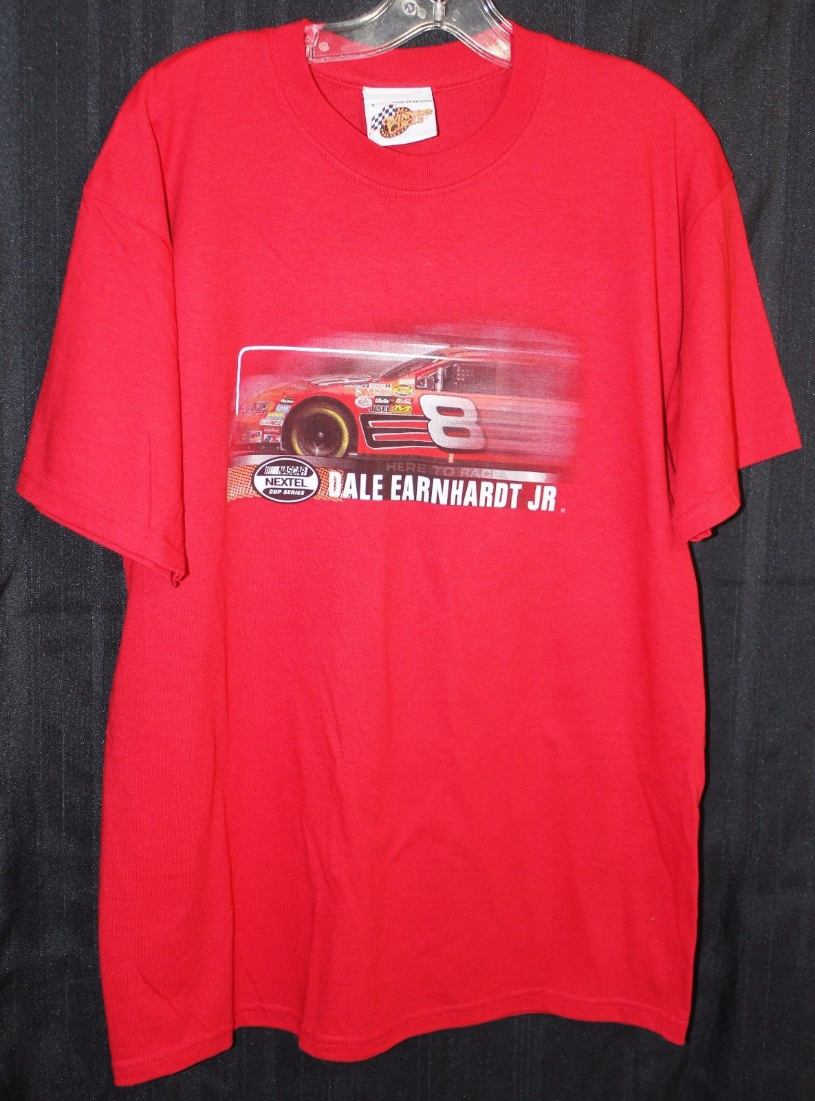 Winners Circle Dale Earnhardt Jr T Shirt NASCAR Nextel 2006 Size L